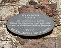 Rougemont castle plaque exeter (13794781185).jpg