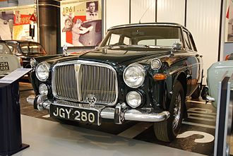 Rover P5 - 1971 Rover P5B owned by Queen Elizabeth II