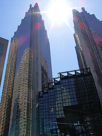 Royal Bank Plaza - Image: Royal Bank Plaza from north east