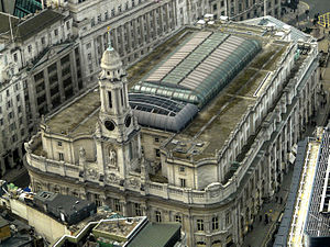 William Tite - Image: Royal Exchange from above