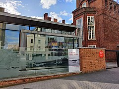Royal Geographical Society, Exhibition Road Entrance.jpg