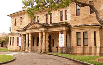Callan Park Hospital for the Insane - Rozelle Hospital.