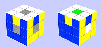 Void Cube - Odd Parity Single Swap
