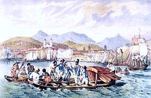History of Rio de Janeiro - Port of the Mineiros in Rio de Janeiro