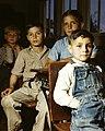 Rural school children, San Augustine County, Texas (LOC fsac.1a35425) (cropped).jpg