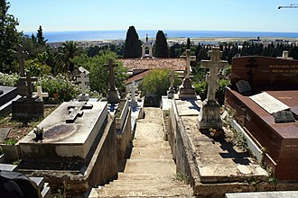 Russian Orthodox Cemetery, Nice - Image: Russian Cemetery in Nice
