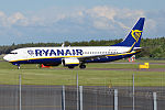 Ryanair, EI-DLR, Boeing 737-8AS (18428431709).jpg