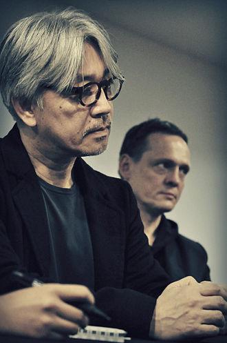 Ryuichi Sakamoto discography - Sakamoto and Alva Noto at a press conference