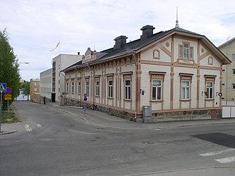 Sääminki - The old municipal hall of the Sääminki