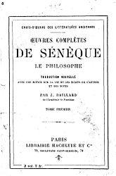 Sénèque: Œuvres complètes de Sénèque le Philosophe