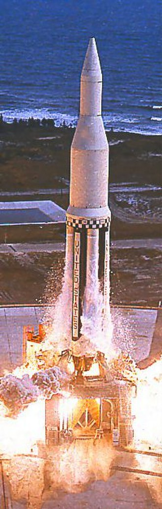 Saturn I - Image: SA 1 launch