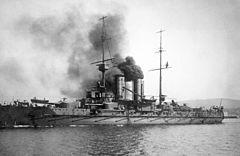 """SMS """"Zrínyi"""" w 1918 r."""