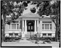 SOUTH (ENTRANCE) FRONT - Gilroy Free Public Library, 195 Fifth Street, Gilroy, Santa Clara County, CA HABS CAL,43-GIL,3-2.tif