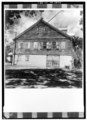 SOUTH GABLE END - Moravian Parsonage, Friedensfeld, St. Croix, VI HABS VI,1-FRIE,2-1.tif