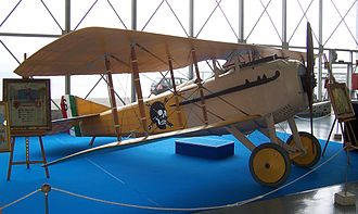 Fulco Ruffo di Calabria - Displayed here is Ruffo di Calabria's SPAD V.II