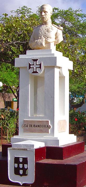 Bernardo de Sá Nogueira de Figueiredo, 1st Marquis of Sá da Bandeira - Bust of  Sá da Bandeira in Mindelo, Cape Verde