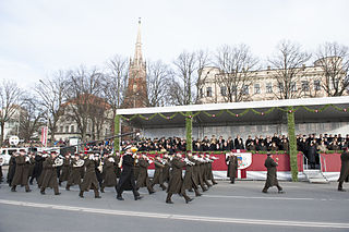 Musical unit in the Latvian National Armed Forces