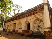 Safa masjid at Belagavi fort.jpg