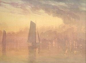 Truman Seymour - Image: Sailboats at Sunset