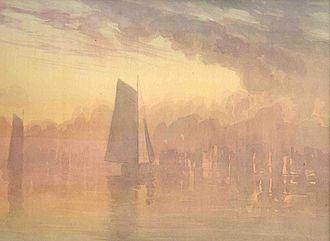 Truman Seymour - Image: Sailboats at Sunset
