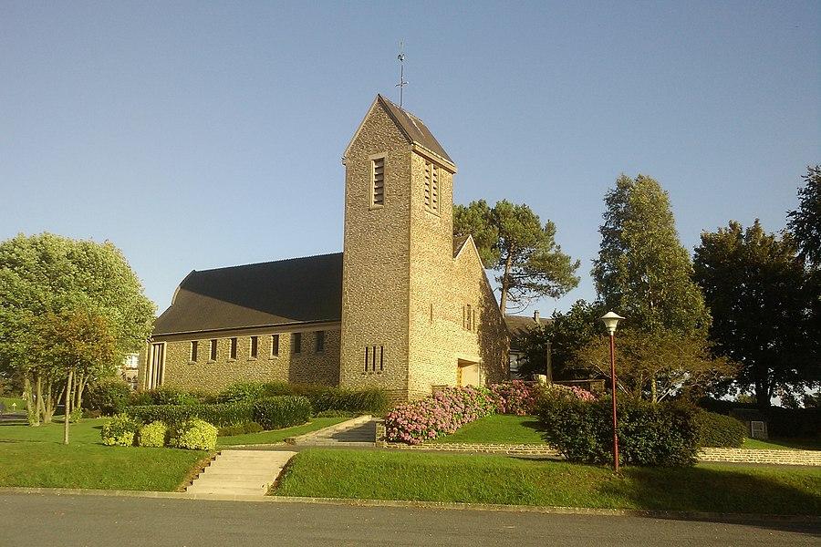 Église de fr:Saint-Germain-d'Elle