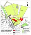 Saint-Martin-aux-Bois (60), abbaye, plan de situation.png