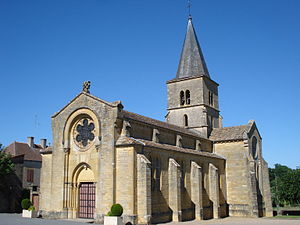 Saint-Vincent-Bragny, church St.Vincent.JPG
