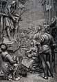 Saint John the Baptist. Wood engraving by J. Petut after Huy Wellcome V0032476.jpg