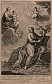 Saint John the Evangelist. Engraving by N. de Larmessin afte Wellcome V0032407.jpg