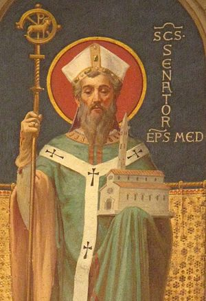 Senator (bishop of Milan) - Image: Saint Senator 4