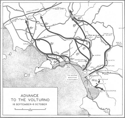 Allied advance to the Volturno river. SalernoAdvancetoVolturno1943.jpg