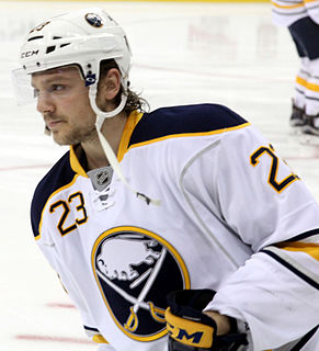 Sam Reinhart Canadian Buffalo Sabres ice hockey player
