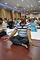 Samarendra Kumar in Kapalabhati - International Day of Yoga Celebration - NCSM - Kolkata 2015-06-21 7412.JPG