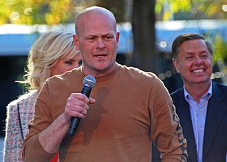 Joe the Plumber - Wurzelbacher speaking in Elyria, Ohio