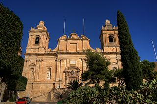 Collegiate Church of Saint Lawrence, Vittoriosa Church in Birgu, Malta