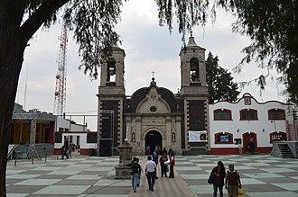 Cuajimalpa - Facade of the Parish of San Pedro