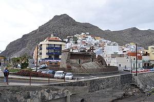 San Andrés, Santa Cruz de Tenerife - Village of San Andrés and the Castle of San Andrés.