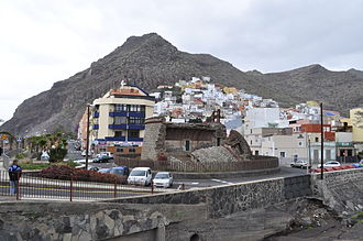 San Andrés, Santa Cruz de Tenerife - Village of San Andrés and the Castle of San Andrés.