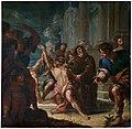 San Francisco de Paula curando a un endemoniado, de Juan Vicente Ribera (Museo del Prado).jpg