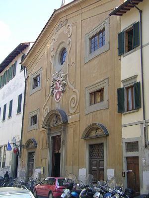 San Giovannino dei Cavalieri - Façade of the church.