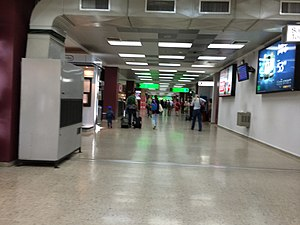 Monseñor Óscar Arnulfo Romero International Airport - Main corridor at El Salvador International Airport.