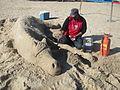 Sand Sculpture Art - മണൽ ശില്പകല 01.JPG