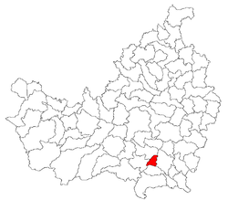 Location of Sănduleşti