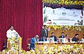 Sanjeev Kumar Balyan addressing the National Conference on Sustainable Agriculture and Farmers Welfare, in Gangtok, Sikkim. The Union Minister for Agriculture and Farmers Welfare.jpg