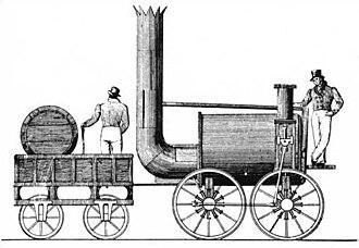 Sans Pareil - Drawing of Sans Pareil from 1829