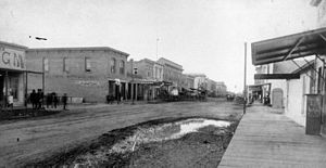 English: Santa Ana, 1887.