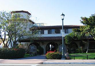 Santa Barbara Municipal Airport - Original passenger terminal building