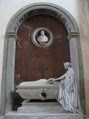 Gino Capponi - Tomb of Capponi in the Basilica Santa Croce in Florence