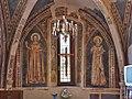 Sante Maria Maddalena e Caterina d'Alessandria (anonimo del '300, dettaglio della cappella Manassei, chiesa di San Salvatore Terni).jpg