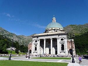 Sanctuary of Oropa - The Upper Basilica